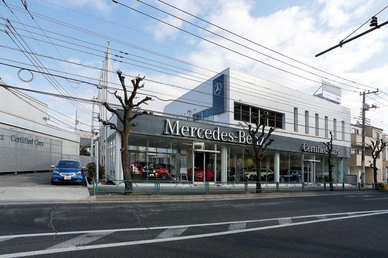 メルセデス・ベンツ西東京サーティファイドカーセンター(東伏見)